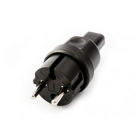 Plug for festoon garlands 230V 16A IP44 for flat cable